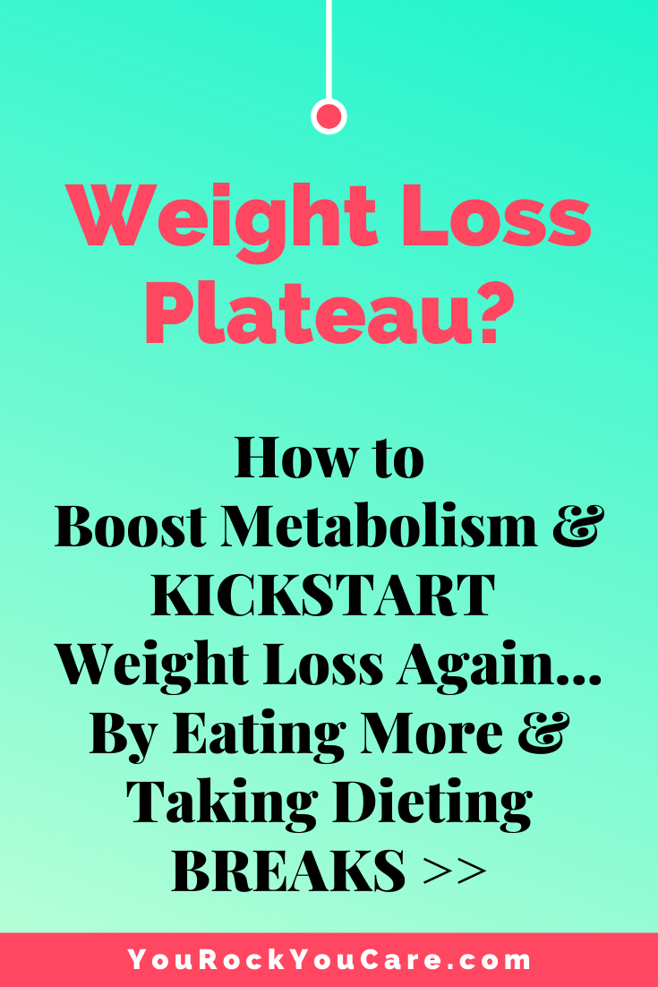 Weight Loss Plateau? How to Boost Metabolism & Kickstart Weight Loss Again